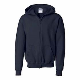 Gildan YOUTH Heavy Blend Full Zip Sweatshirt
