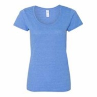 Gildan | Gildan LADIES' Softstyle Deep Scoopneck T-Shirt