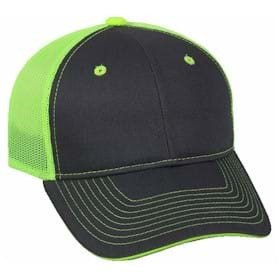 Outdoor Cap Garment Washed Mesh Back Cap
