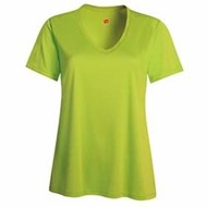Hanes | HANES LADIES' Cool Dri V-Neck Performance Tee