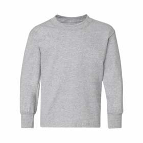 Hanes L/S YOUTH 6oz. Tagless T-Shirt