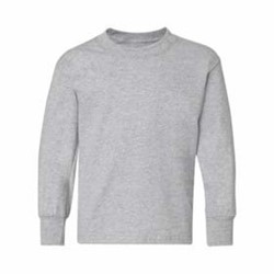 Hanes | Hanes L/S YOUTH 6oz. Tagless T-Shirt