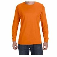 Hanes | L/S  Tagless 6.1 oz Cotton T-shirt