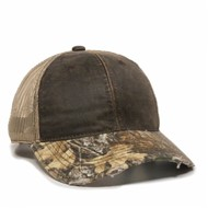 Outdoor Cap | Outdoor Cap Camo Visor Cap