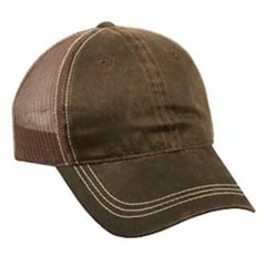 Outdoor Cap | Weathered Cotton Mesh Back Cap