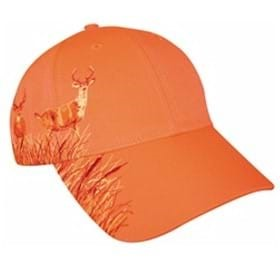 KC Neon Hunting Orange BUCK Cap