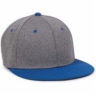Outdoor Cap | Outdoor Cap Heathered Performance Fitted Cap