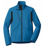 Port Authority | Port Authority® Back-Block Soft Shell Jacket