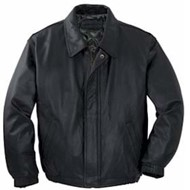 Port Authority | Port Authority Leather Bomber Jacke