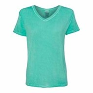 J America | J America LADIES' Oasis Wash V-Neck Tee