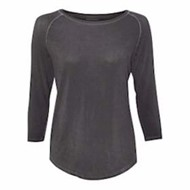J America | J America LADIES' Oasis Wash 3/4 Sleeve Tee