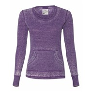 J America | J America LADIES' L/S Zen Thermal T-Shirt