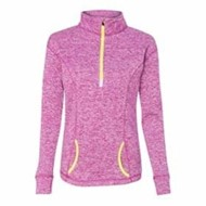 J America | J America LADIES' Cosmic Fleece 1/4 Zip