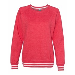 J America | J America LADIES' Relay Crewneck Sweatshirt