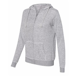 J America | J America LADIES' Cozy Full-Zip Hooded Sweatshirt
