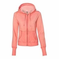 J America | J America LADIES' Oasis Wash Full-Zip Hood