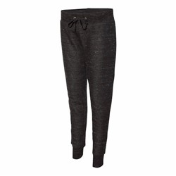J America | J America LADIES' Melange Fleece Jogger Pants