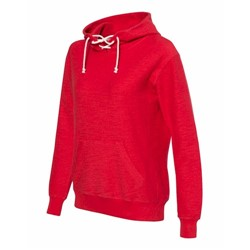 J America | J America LADIES' Sport Lace Scuba Hooded Pullover