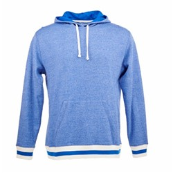 J America | J America Peppered Fleece Hooded Sweatshirt