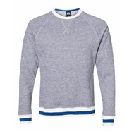 J America | J America Peppered Fleece Crewneck Sweatshirt