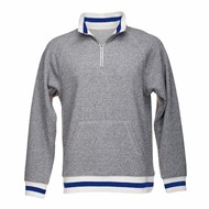 J America | J America Peppered Fleece 1/4 Zip Pullover