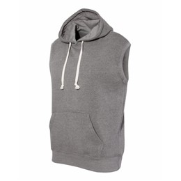 J America | J America Triblend Sleeveless Hooded Sweatshirt