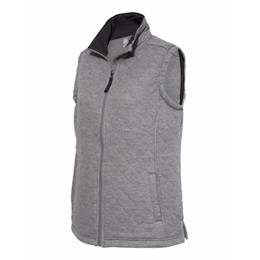 J America | J America LADIES' Quilted Full Zip Vest