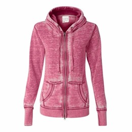 J America | J America LADIES' Zen Full Zip Hood