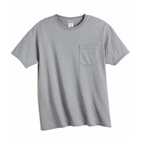 JERZEES 5.6 oz 50/50 T-shirt with Pocket