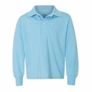 Jerzees | Jerzees L/S YOUTH 5.6oz SpotShield Jersey Polo