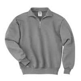 JERZEES 9.5 oz 50/50 Quarter-Zip Pullover w/ Cadet
