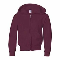 Jerzees | JERZEES 8 oz 50/50 Youth Full-Zip Hood