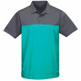Tri-Mountain Dimension Yoke Colorblock Polo