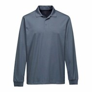 Tri-Mountain | Tri-Mountain L/S Vital Mini-Pique Polo