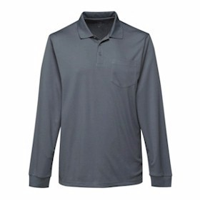 Tri-Mountain L/S Vital Pocketed Polo