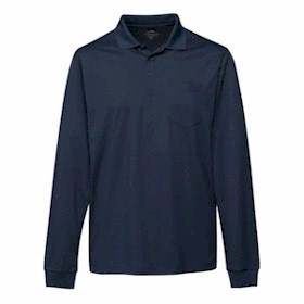 Tri-Mountain L/S TALL Vital Pocketed Polo