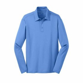 Port Authority L/S Silk Touch Performance Polo