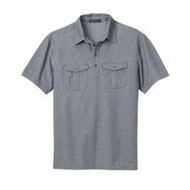 Port Authority | Port Authority Oxford Pique Double Pocket Polo