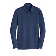 Port Authority | Port Authority® L/S Meridian Cotton Blend Polo