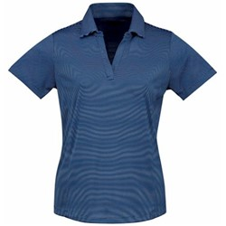 Tri-Mountain | Tri Mountain Sybil Ladies Micro Stripe Polo