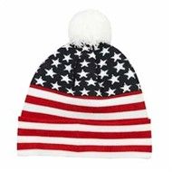 Outdoor Cap | Outdoor Cap Stars and Stripes Knit Beanie