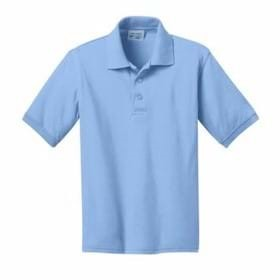 Port & Company YOUTH 5.5 Ounce Jersey Knit Polo