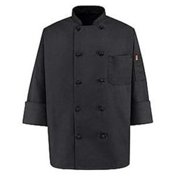 Chef Designs | Chef Designs Black Traditional Chef Coat
