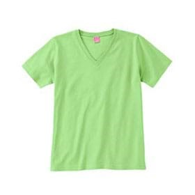 LAT LADIES' Ringspun V-Neck T-Shirt