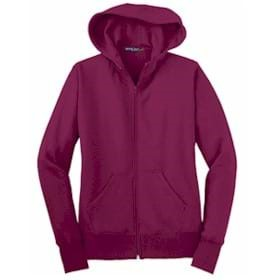 Sport-Tek LADIES' Full-Zip Hooded Fleece Jacket