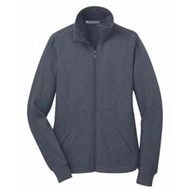Port Authority | Port Authority LADIES' Slub Fleece Full Zip Jacket
