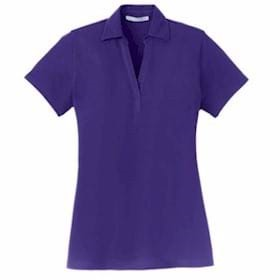 Port Authority LADIES' Silk Touch Y-Neck Polo