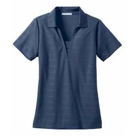 Port Authority LADIES' Horizontal Texture Polo