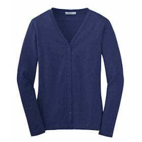 Port Authority LADIES' Stretch Cotton Cardigan