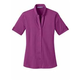 Port Authority LADIES' Stretch Pique Shirt